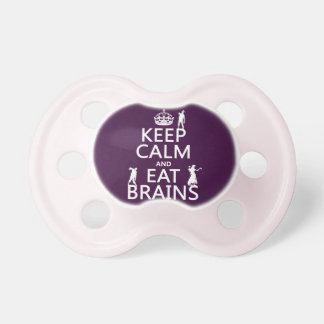 Keep Calm and Eat Brains (zombies) (any color) Dummy