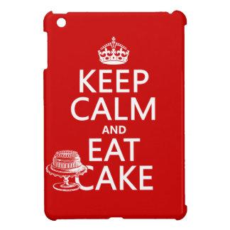 Keep Calm and Eat Cake Cover For The iPad Mini