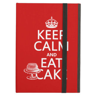Keep Calm and Eat Cake (customize colors) iPad Air Cover