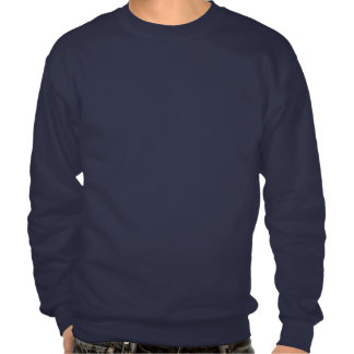 Keep Calm and Eat Crewneck-Navy Pullover Sweatshirts