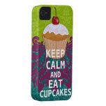 KEEP CALM AND Eat Cupcakes-change aqua any colour