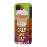 KEEP CALM AND Eat Cupcakes-change plum any colour