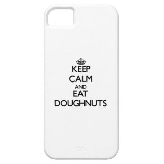 Keep calm and eat Doughnuts iPhone 5 Covers