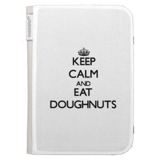 Keep calm and eat Doughnuts Kindle 3G Covers