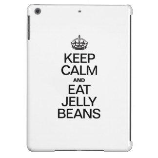 KEEP CALM AND EAT JELLY BEANS COVER FOR iPad AIR