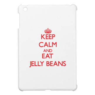 Keep calm and eat Jelly Beans iPad Mini Case