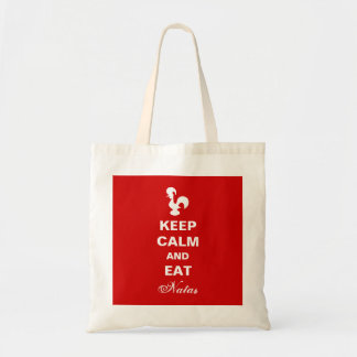 Keep Calm and Eat natas bag