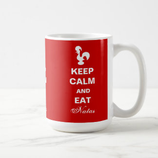 Keep Calm and Eat Natas mug