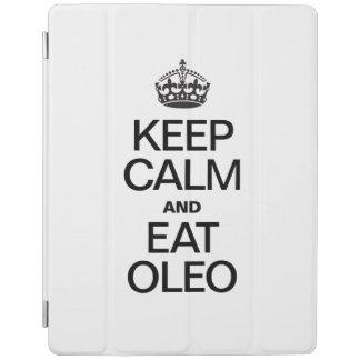 KEEP CALM AND EAT OLEO iPad COVER