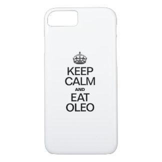 KEEP CALM AND EAT OLEO iPhone 7 CASE