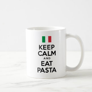 Keep Calm And Eat Pasta Mug