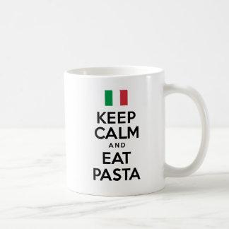 Keep Calm And Eat Pasta Mug