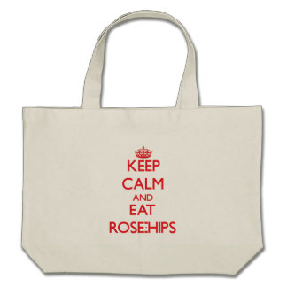 Keep calm and eat Rose-Hips Bag