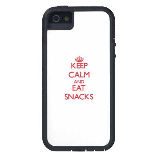 Keep calm and eat Snacks iPhone 5 Covers