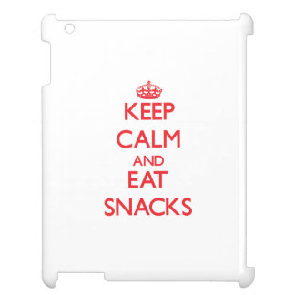Keep calm and eat Snacks Cover For The iPad