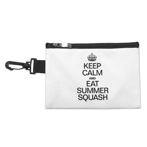 KEEP CALM AND EAT SUMMER SQUASH ACCESSORIES BAGS