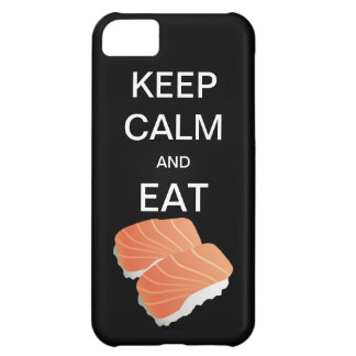 KEEP CALM AND EAT SUSHI iPhone, Samsung, Motorola iPhone 5C Case