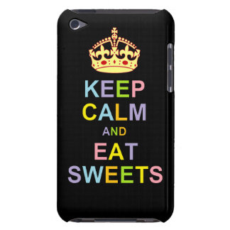 Keep Calm and Eat Sweets Barely There iPod Covers