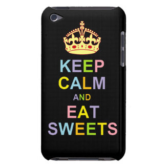 Keep Calm and Eat Sweets Case-Mate iPod Touch Case