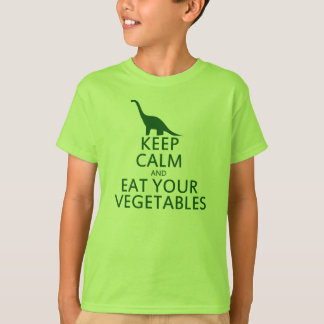 Keep Calm and Eat your Vegetables T-Shirt