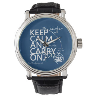 Keep Calm and Edit On (in any color) Watch