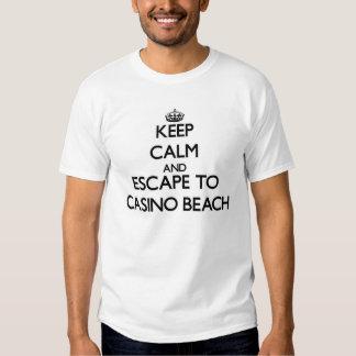 Keep calm and escape to Casino Beach Florida Tshirt