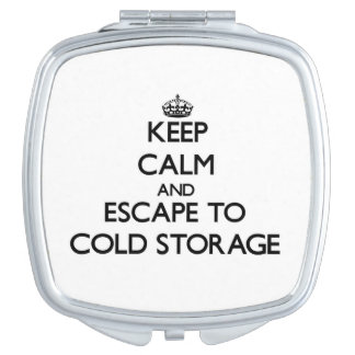 Keep calm and escape to Cold Storage Massachusetts Makeup Mirrors