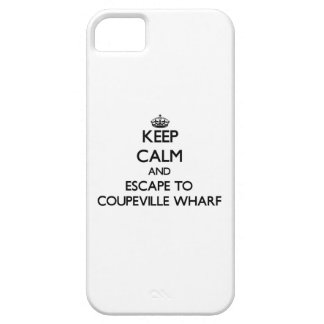 Keep calm and escape to Coupeville Wharf Washingto iPhone 5 Cover