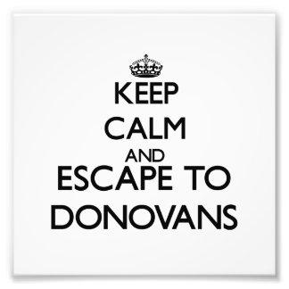 Keep calm and escape to Donovans Massachusetts Art Photo