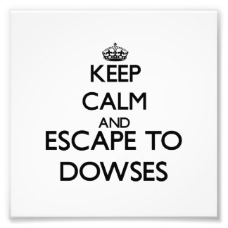 Keep calm and escape to Dowses Massachusetts Art Photo
