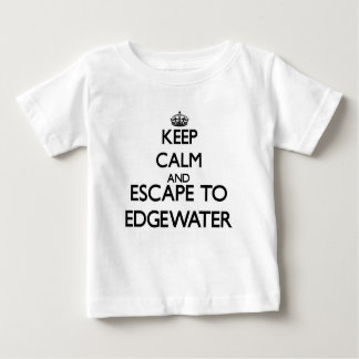 Keep calm and escape to Edgewater Massachusetts Shirt