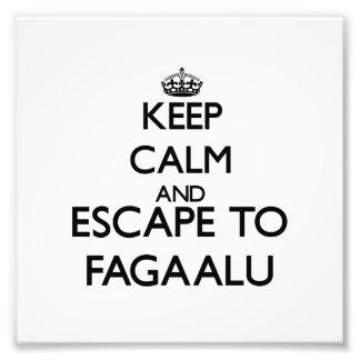 Keep calm and escape to Fagaalu Samoa Photo