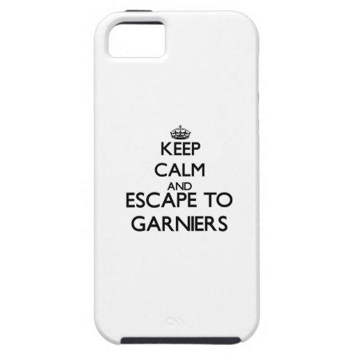 Keep calm and escape to Garniers Florida iPhone 5 Covers