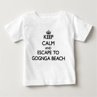 Keep calm and escape to Gognga Beach Guam Tee Shirt