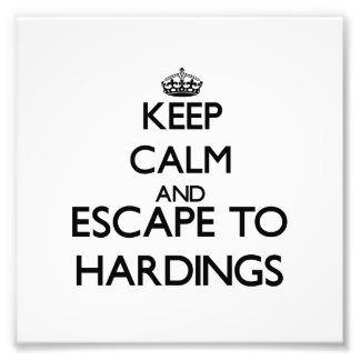 Keep calm and escape to Hardings Massachusetts Art Photo