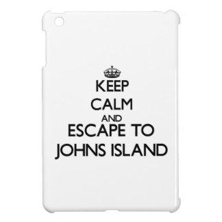 Keep calm and escape to Johns Island Washington iPad Mini Case