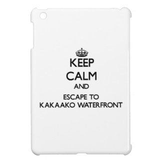Keep calm and escape to Kakaako Waterfront Hawaii Case For The iPad Mini
