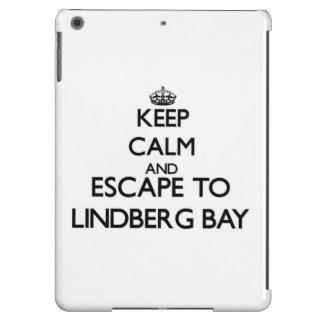 Keep calm and escape to Lindberg Bay Virgin Island iPad Air Covers
