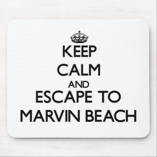 Keep calm and escape to Marvin Beach Connecticut Mousepads