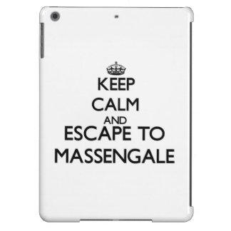 Keep calm and escape to Massengale Georgia iPad Air Cover