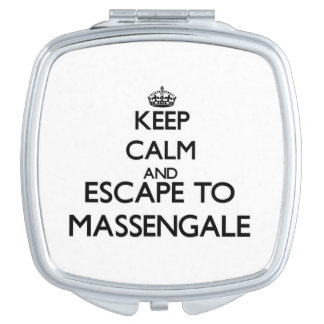 Keep calm and escape to Massengale Georgia Vanity Mirror