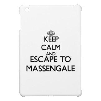 Keep calm and escape to Massengale Georgia Cover For The iPad Mini