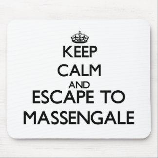 Keep calm and escape to Massengale Georgia Mouse Pads