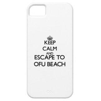 Keep calm and escape to Ofu Beach Samoa iPhone 5 Cover