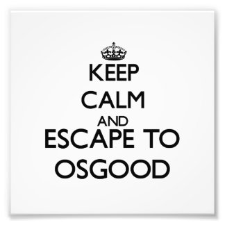 Keep calm and escape to Osgood Massachusetts Photo
