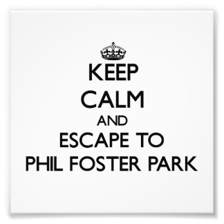 Keep calm and escape to Phil Foster Park Florida Photo Art