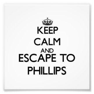 Keep calm and escape to Phillips Massachusetts Photo