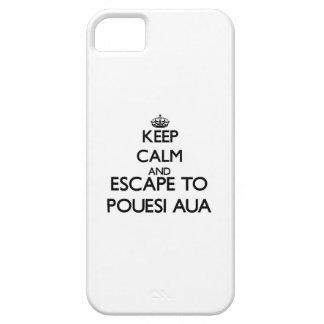 Keep calm and escape to Pouesi-Aua Samoa iPhone 5 Cases