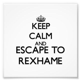 Keep calm and escape to Rexhame Massachusetts Photo