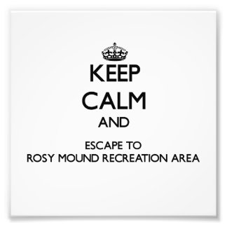 Keep calm and escape to Rosy Mound Recreation Area Photo Print